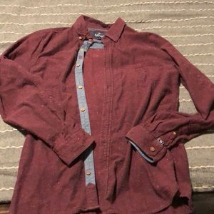Hardly worn slim fit button up
